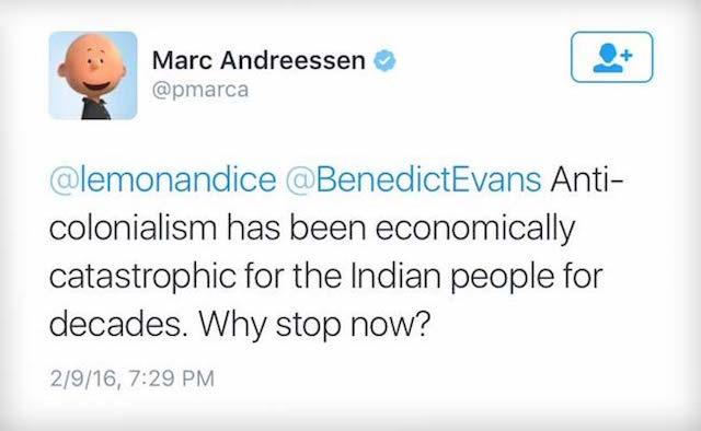 (CC) Marc Andreessen, NDTV, Twitter