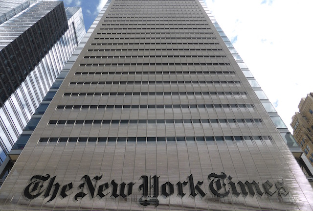 Le Siège du New York Times à Manhattan - (CC) Christophe Lachnitt