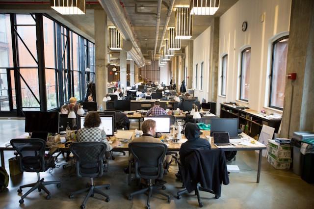 Le Siège de Kickstarter à Brooklyn - (CC) Yancey Strickler