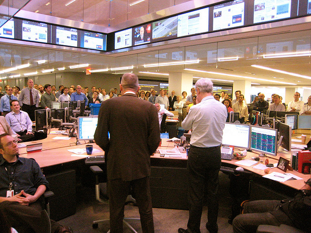 La salle de rédaction du Wall Street Journal - (CC) Jon Keegan