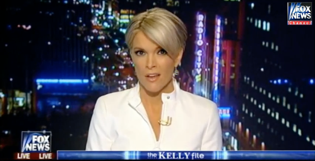 Megyn Kelly - (CC) Fox News via YouTube