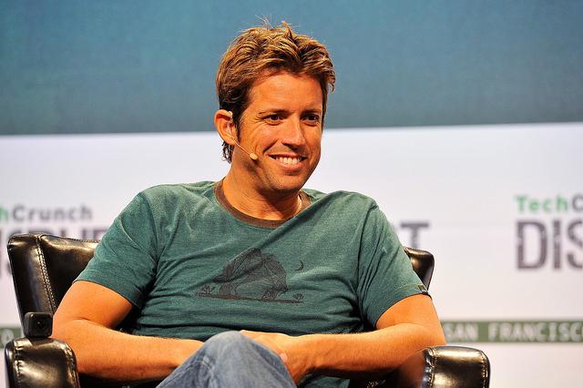 Nick Woodman, cofondateur et patron de GoPro - (CC) TechCrunch