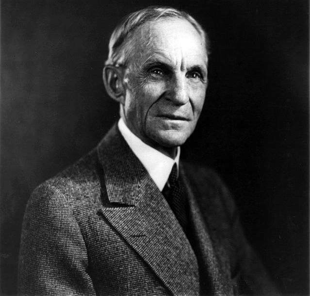 Henry Ford - (CC) United States Library of Congress