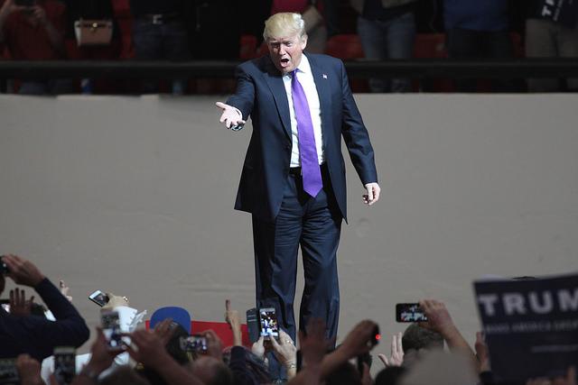 Donald Trump - (CC) Gage Skidmore